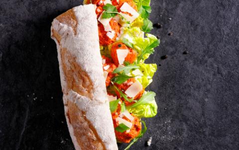 Hush Broodje Filet Americain - Vers belegde broodjes