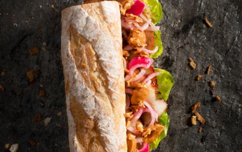 Hush Broodje Warm Vlees - Vers belegde broodjes