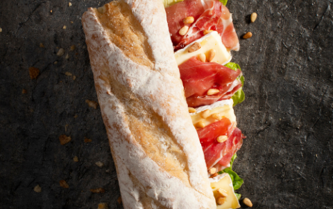 Hush Broodje Brie - Vers belegde broodjes