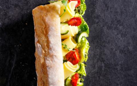 Hush Broodje Boerenkaas - Vers belegde broodjes