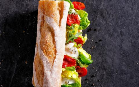 Hush Broodje Buffelmozzarella - Vers belegde broodjes