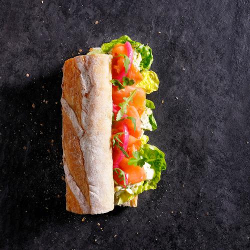 Hush Broodje Zalm - Vers belegde broodjes