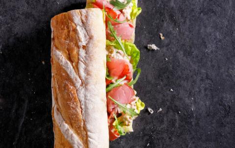 Hush Broodje Tonijnsalade Vitello - Vers belegde broodjes