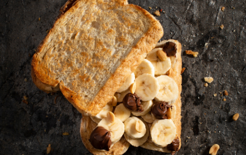 Hushti banaan/nutella