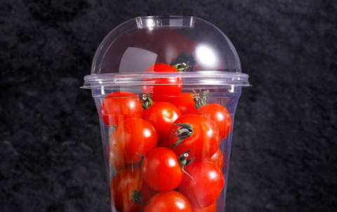 Bakje met cherry tomaten