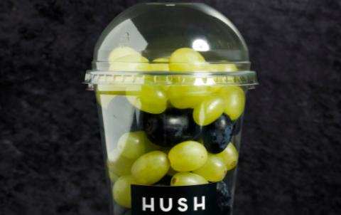 Bakje met druiven
