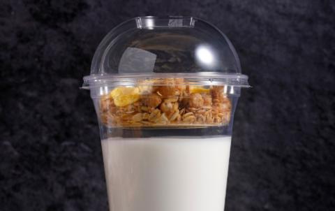 Yoghurt met cruesli